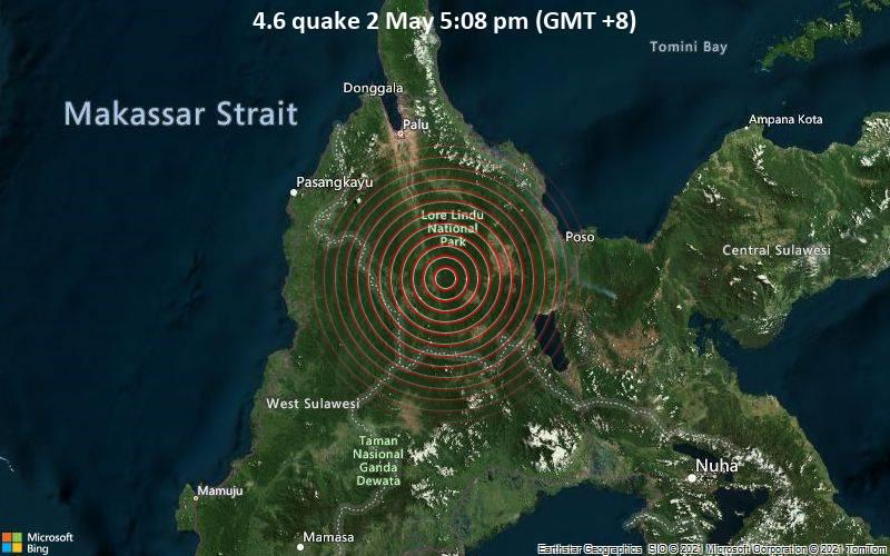 4.6 quake 2 May 5:08 pm (GMT +8)