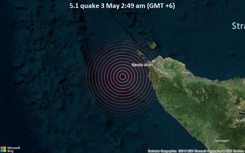 5.1 quake 3 May 2:49 am (GMT +6)