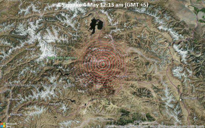 4.5 quake 4 May 12:13 am (GMT +5)