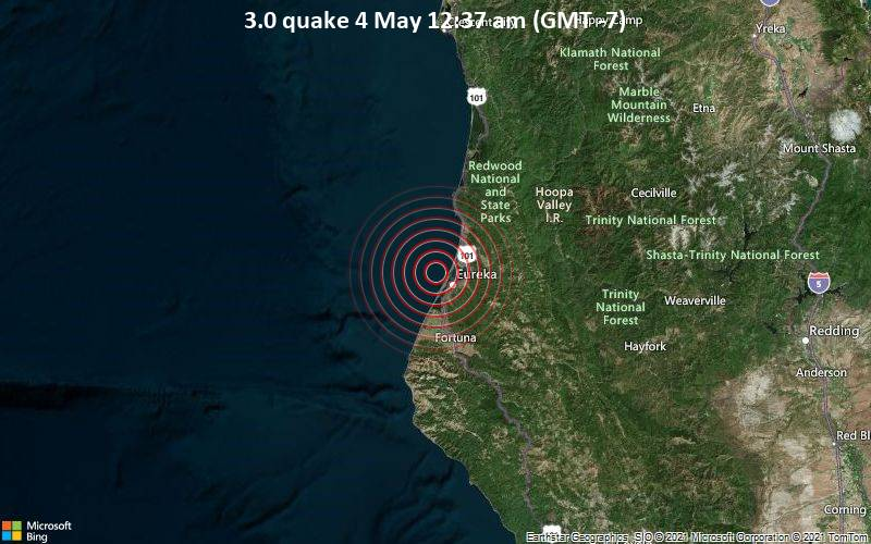3.0 quake 4 May 12:37 am (GMT -7)