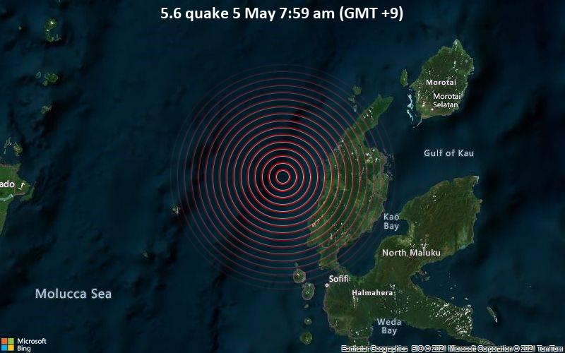 5.6 quake 5 May 7:59 am (GMT +9)