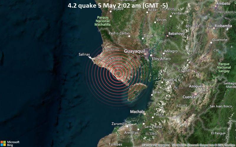 4.2 quake 5 May 2:02 am (GMT -5)