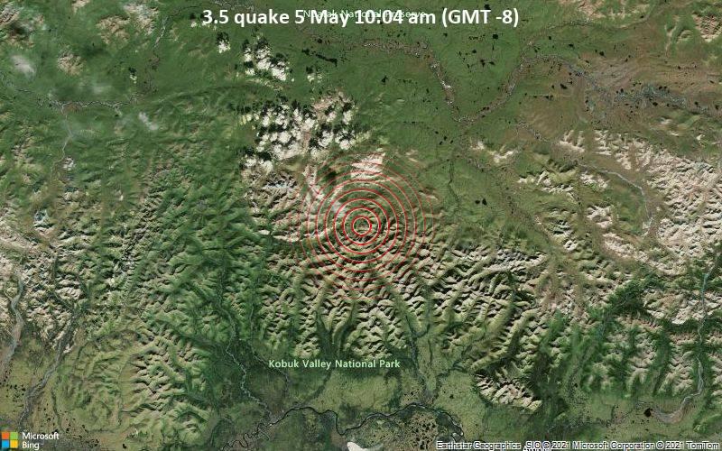 3.5 quake 5 May 10:04 am (GMT -8)