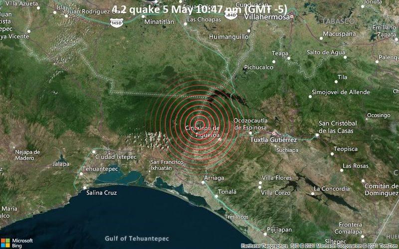 4.2 quake 5 May 10:47 pm (GMT -5)