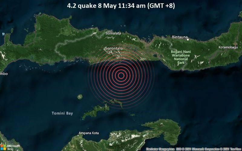 4.2 quake 8 May 11:34 am (GMT +8)