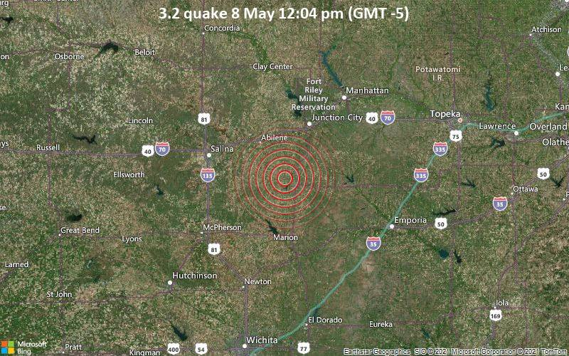 3.2 quake 8 May 12:04 pm (GMT -5)