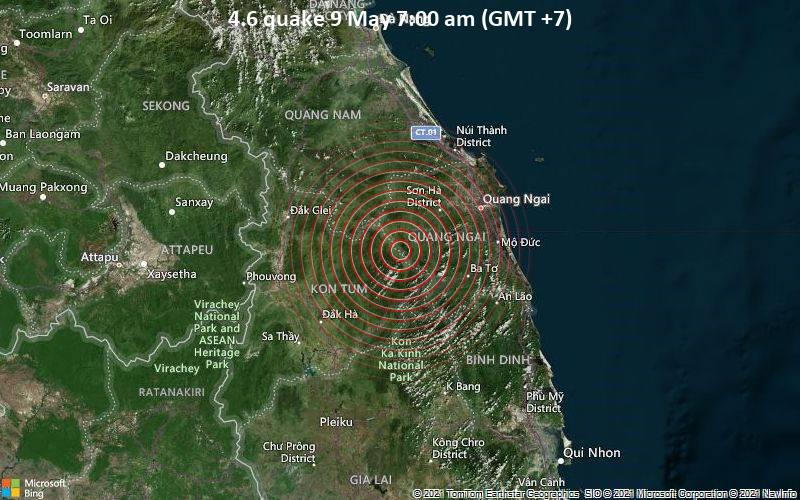 4.6 quake 9 May 7:00 am (GMT +7)