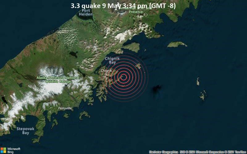 3.3 quake 9 May 3:34 pm (GMT -8)