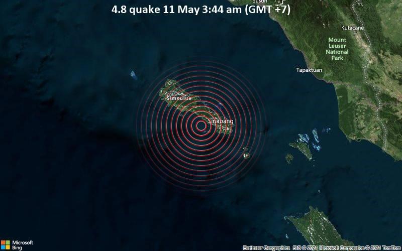 4.8 quake 11 May 3:44 am (GMT +7)
