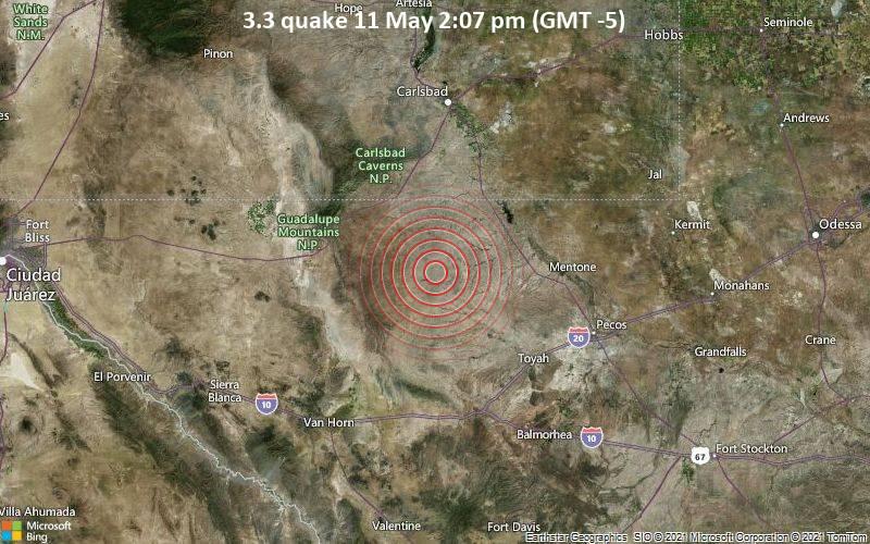 3.3 quake 11 May 2:07 pm (GMT -5)