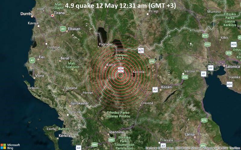 4.9 quake 12 May 12:31 am (GMT +3)