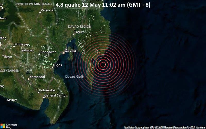 4.8 quake 12 May 11:02 am (GMT +8)
