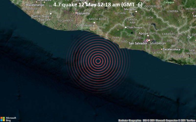 4.7 quake 12 May 12:18 am (GMT -6)