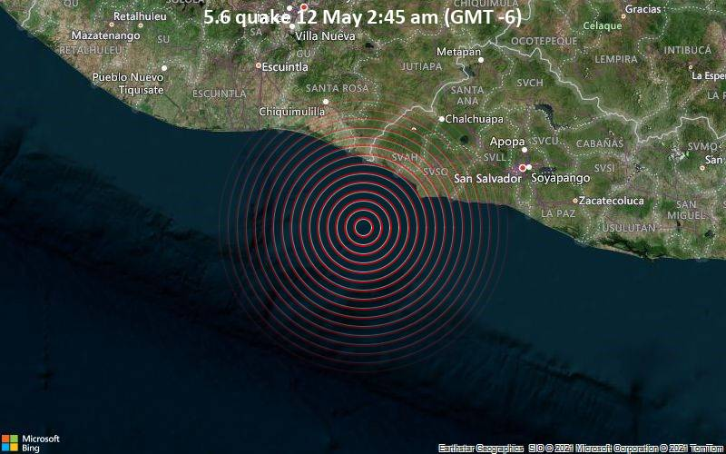 5.6 quake 12 May 2:45 am (GMT -6)
