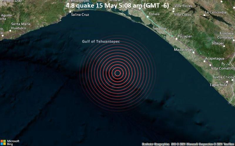 4.8 quake 15 May 5:08 am (GMT -6)
