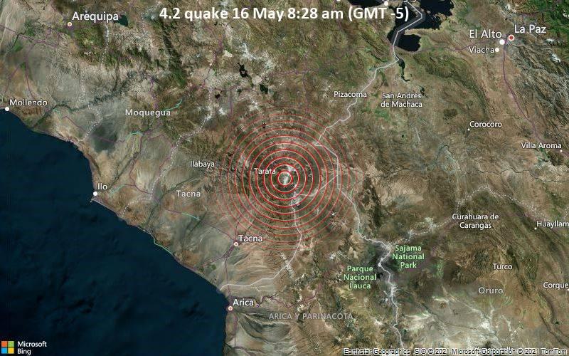 4.2 quake 16 May 8:28 am (GMT -5)
