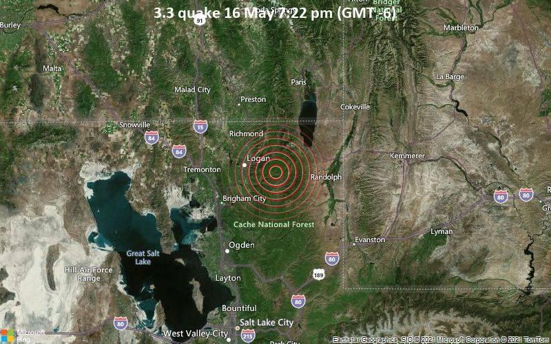 3.3 quake 16 May 7:22 pm (GMT -6)
