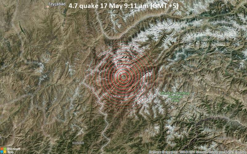 4.7 quake 17 May 9:11 am (GMT +5)