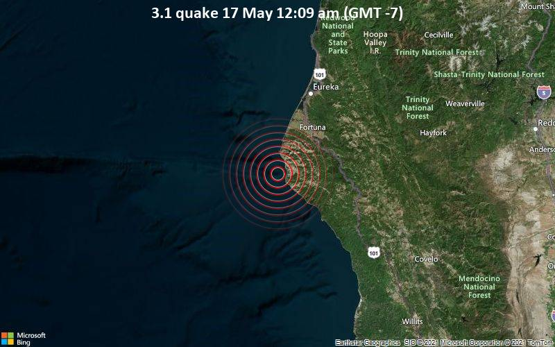 3.1 quake 17 May 12:09 am (GMT -7)