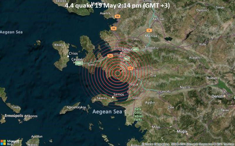 Of izmir turkey map İzmir
