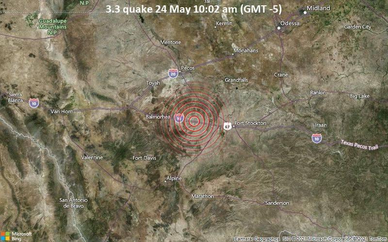3.3 quake 24 May 10:02 am (GMT -5)