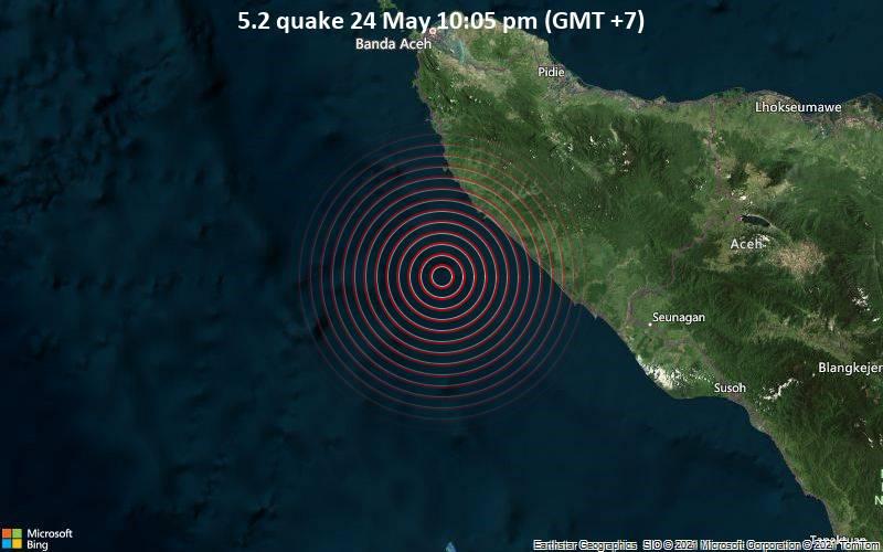 5.2 quake 24 May 10:05 pm (GMT +7)