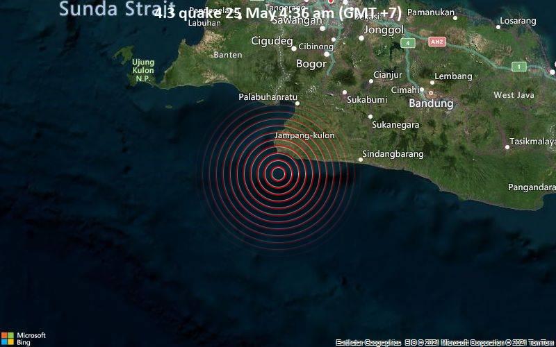 4.3 quake 25 May 4:36 am (GMT +7)