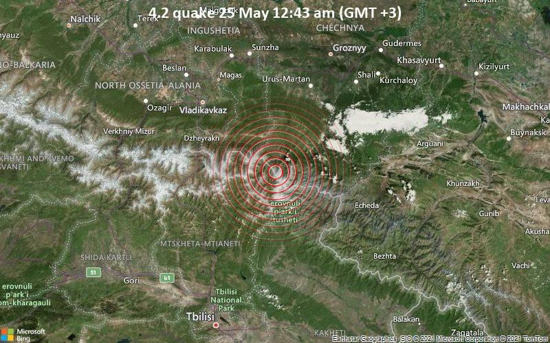 4.2 quake 25 May 12:43 am (GMT +3)