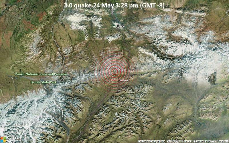 3.0 quake 24 May 3:28 pm (GMT -8)