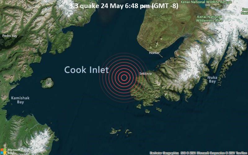 3.3 quake 24 May 6:48 pm (GMT -8)