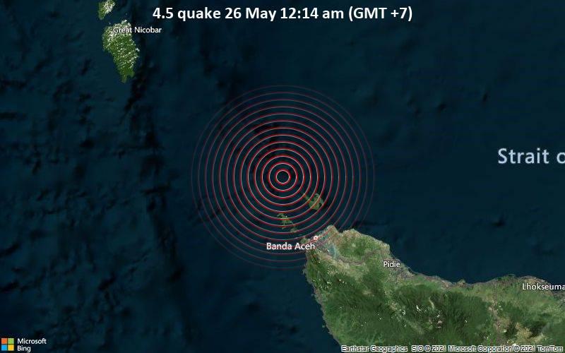 4.5 quake 26 May 12:14 am (GMT +7)