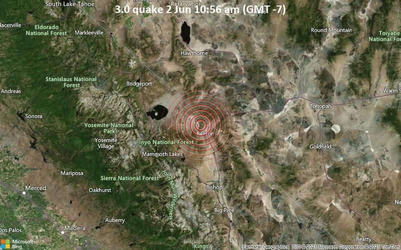 3.0 quake 2 Jun 10:56 am (GMT -7)