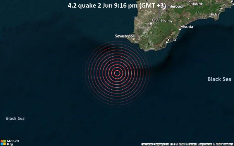4.2 quake 2 Jun 9:16 pm (GMT +3)