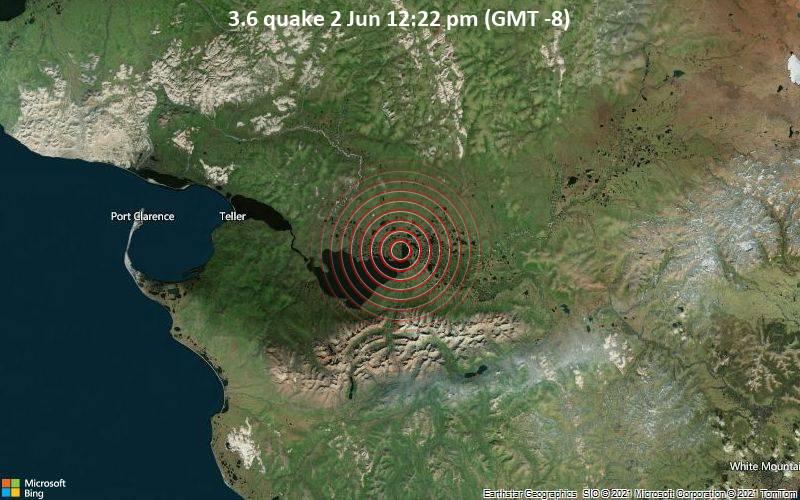 3.6 quake 2 Jun 12:22 pm (GMT -8)
