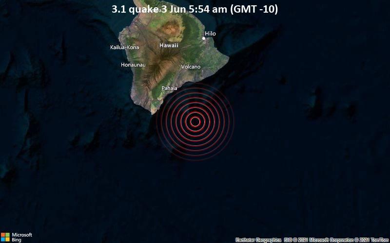 3.1 quake 3 Jun 5:54 am (GMT -10)