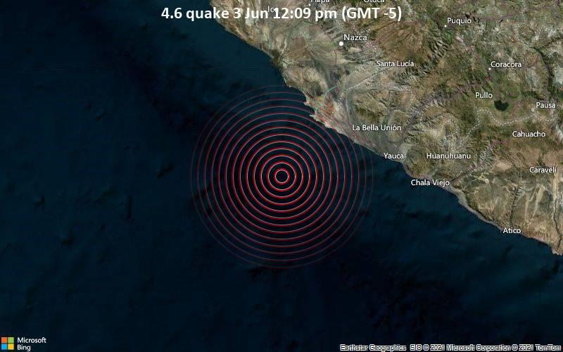 4.6 quake 3 Jun 12:09 pm (GMT -5)