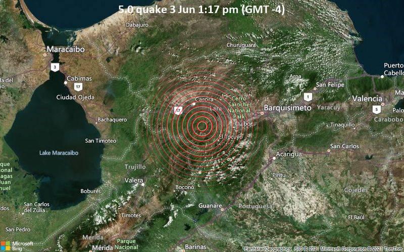 5.0 quake 3 Jun 1:17 pm (GMT -4)