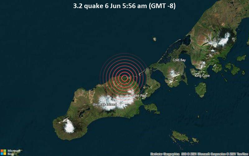 3.2 quake 6 Jun 5:56 am (GMT -8)