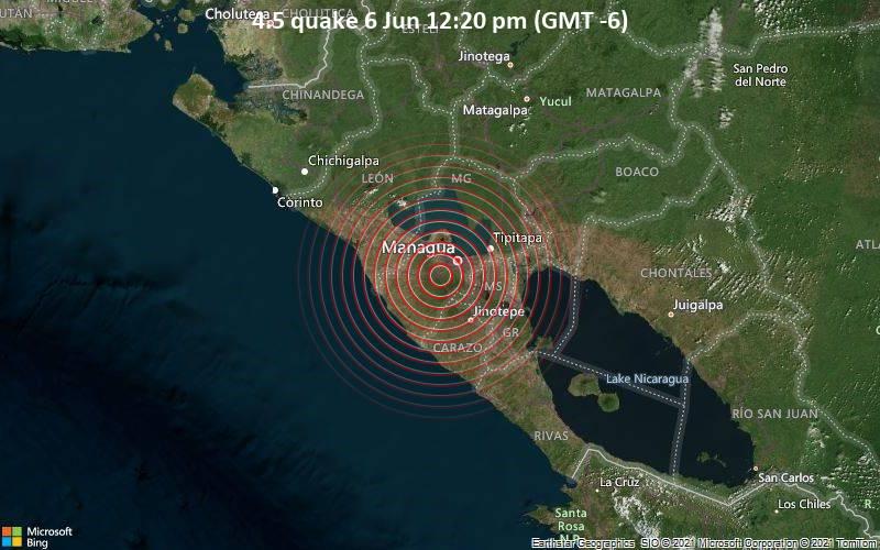 4.5 quake 6 Jun 12:20 pm (GMT -6)