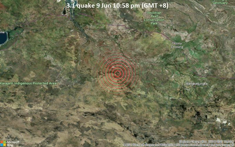 3.1 quake 9 Jun 10:58 pm (GMT +8)