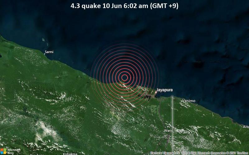 4.3 quake 10 Jun 6:02 am (GMT +9)