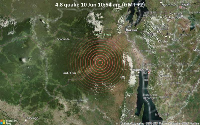 4.8 quake 10 Jun 10:54 am (GMT +2)