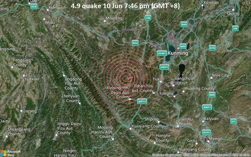 4.9 quake 10 Jun 7:46 pm (GMT +8)