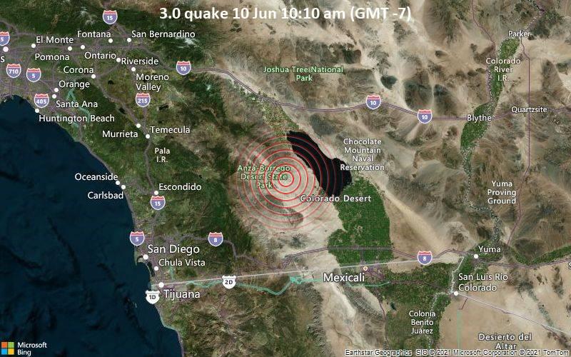 3.0 quake 10 Jun 10:10 am (GMT -7)