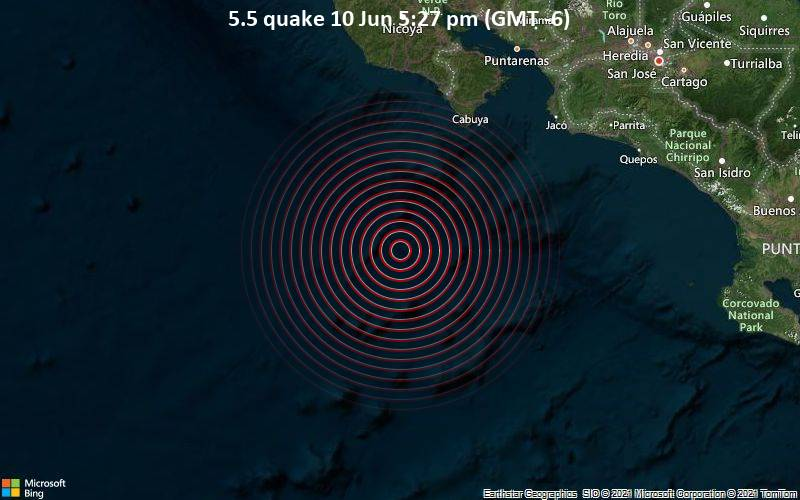 5.5 quake 10 Jun 5:27 pm (GMT -6)