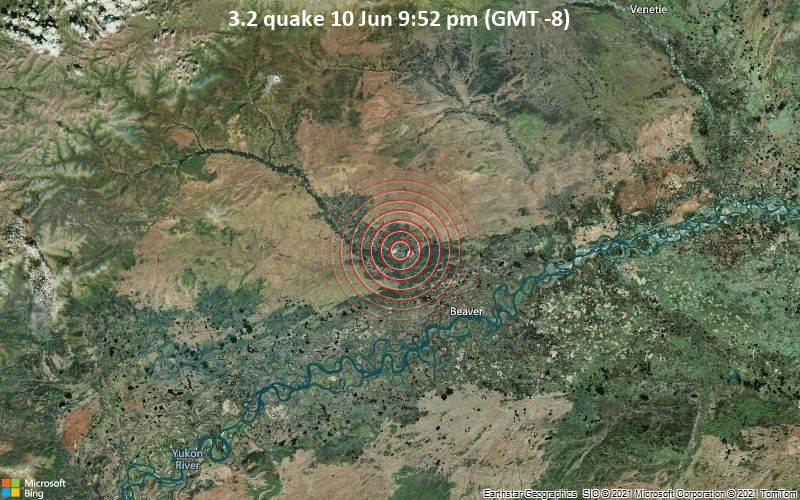 3.2 quake 10 Jun 9:52 pm (GMT -8)