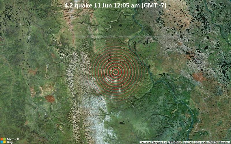 4.2 quake 11 Jun 12:05 am (GMT -7)