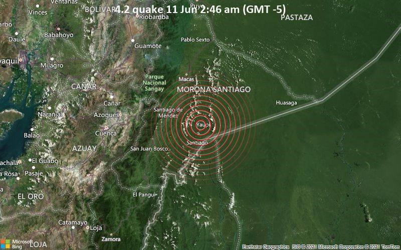 4.2 quake 11 Jun 2:46 am (GMT -5)