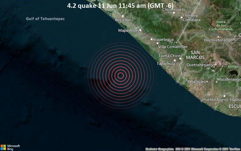 4.2 quake 11 Jun 11:45 am (GMT -6)