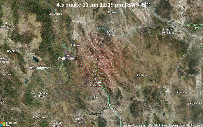 4.5 quake 11 Jun 12:19 pm (GMT -6)